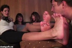 foot worship 3 girls part 2