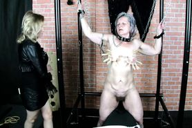 BDSM Granny has big fun