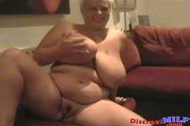 MILF Madness Huge Tits Mature Playing