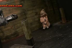 Lovely Lesbian Slave Is Bound