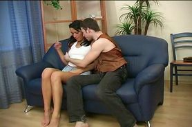 Aniuta Russian woman with a guy Awesome