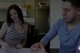 Chloe gets to fucks her hunk boyfriend after playing ca