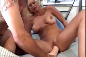 brooke hunter plays with toys