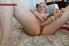 Dirty Talking Young Blonde At Home