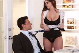 Secretary Brooklyns executive office sex with the boss