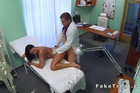 Hot Milf banged by doctor in a fake hospital