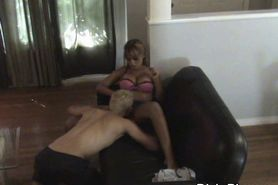 Hidden Camera Catches Cheating Wife Getting Oral