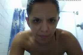 Amateur Mature Woman Showering