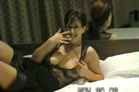 Horny brunette amateur wifel like hard home made anal f