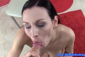 Blowjob beauty amateur fucked roughly