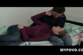 Teen couple fucking for first time
