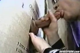 Gloryhole Blowjob