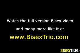 Bisex sluts share cocks with horny dudes