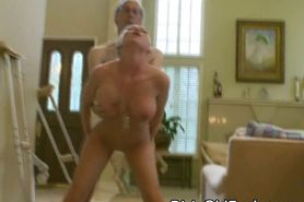 Dirty Old Man Fucks Big Titty Teen And Gives Her Facial