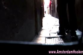 Blonde real amsterdam whore