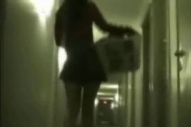 Tiffany Doing The Laundry