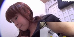 Kinky asian babes pee