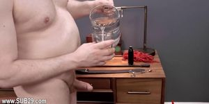 charmingly hardcore BDSM rope sex with anal action