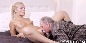 Teen blows and rides old rod