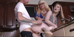 Dolly and Alura gets a hot sex from hot boyfriend