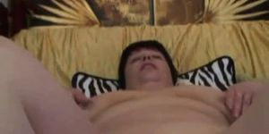 Young skinny guy fuck old fat woman