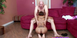 Sexy south american babe gets fucked