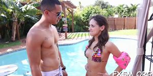 Check out stunning banging scene