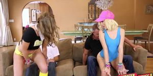 Desperate Alyce Sage and Kimberly Moss