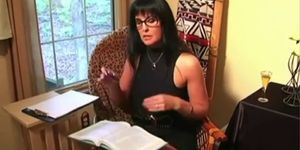 Domina wife jerk off instructions