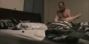 Amateur married couple having sex