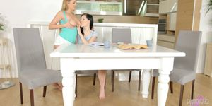 Candy Alexa and Anie Darling in lesbian scene Sapphic t