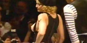 madonna  catwalk