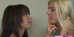 Carmen Monet and Jenna Moore hot threesome session
