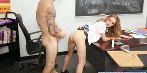 Maci Winslett Passes Her Class