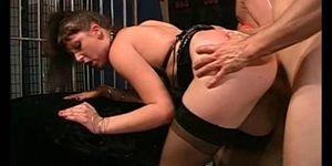 cumeating german girl in orgy