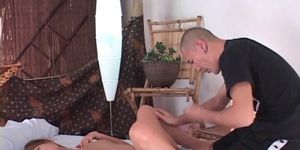 Naked jap sex siren having her cunt rubbed and licked t