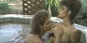 Christy canyon lesbian hot tub