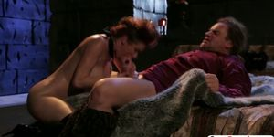 The king fucks the gorgeously evil Veronica Avluv