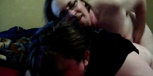 Trinity Pleasures: Hurt My Ass Big Daddy !!! (painful a
