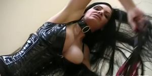 Hot babe in hardcore bdsm