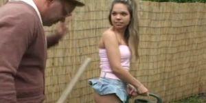 Old Man Fuck Girl In The Garden Usb Porn Videos
