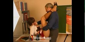 Teacher Fucks Hot Schoolgirl