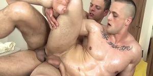 Ass fucking gay masseur hunk