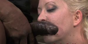 Bondage bdsm skank Cherry Torn double penetrated