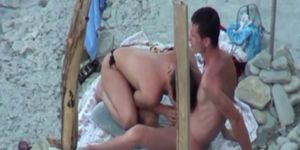 Nude beach spy video of cock sucking
