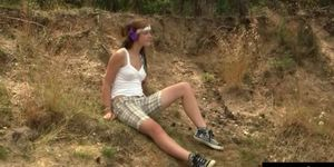 Alexis Crystal is a natural whore that loves getting of