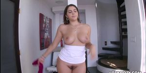 Perfectly juicy ass busty Valentina Nappi anal fuck