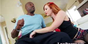 Dani Jensen incite a hard interracial sex