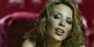 Kylie Minogue sexy posing