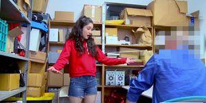 Brunette Teen Jericha Jem Admits Shoplifting And Gets F